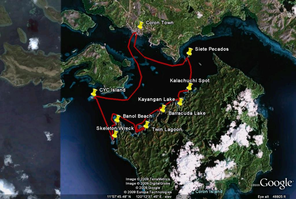 Coron Island Loop Tour