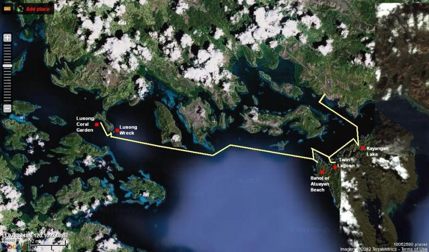 coron island lusong loop