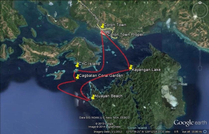 Coron Island Loop